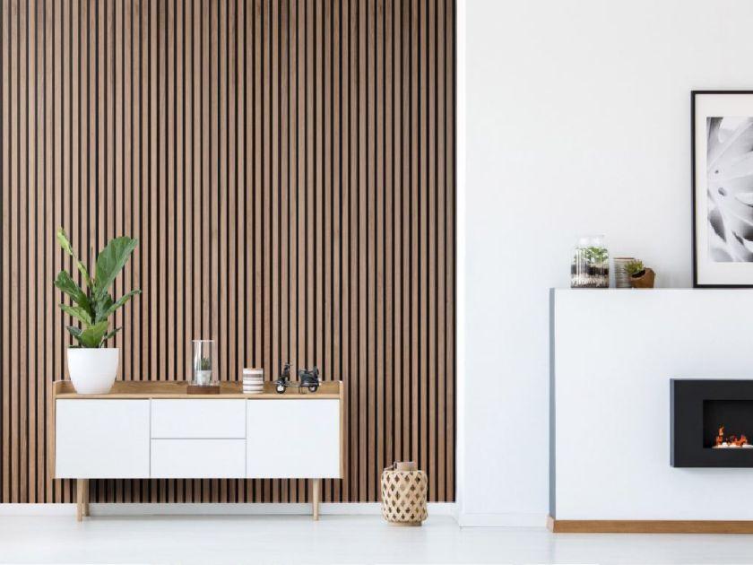 wooden-acoustic-slat-wall-panels-fireplace