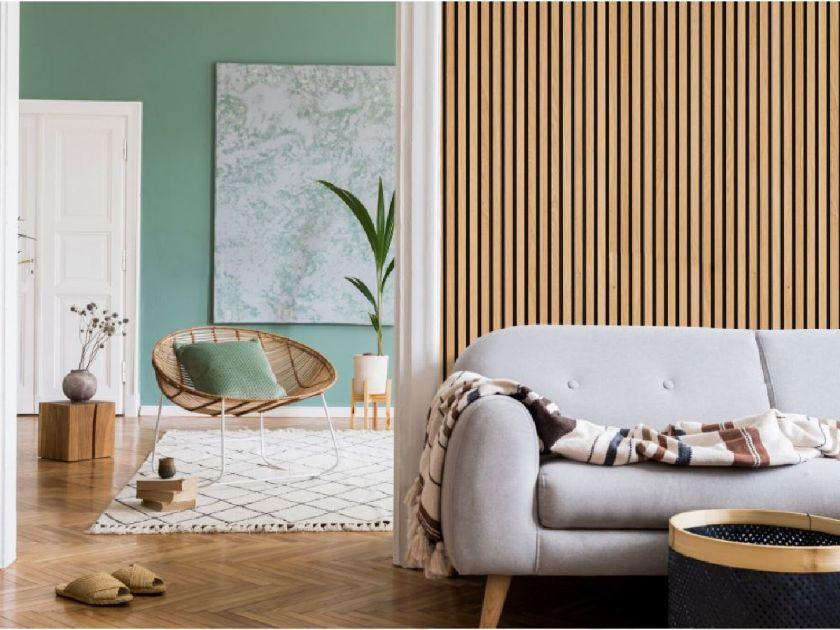 wooden-acoustic-slat-wall-panels-white-sofa